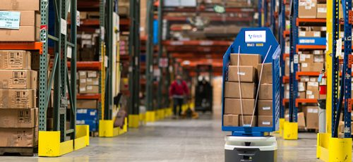 Autonomous Mobile Robot in Logistic