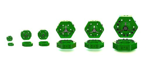 スポット溶接ラインなどでのロボットツールチェンジャー